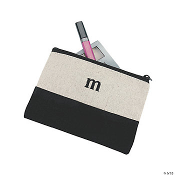 Personalized Initial Cosmetic Bag