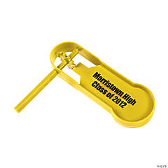 Personalized Giant Yellow Noisemakers