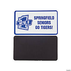 Personalized Blue Team Spirit Magnets