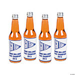 Personalized Team Spirit Bottle Labels - Blue