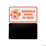 Personalized Orange Team Spirit Magnets