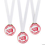 Personalized Red Team Spirit Medals