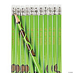 Football Personalized Pencils
