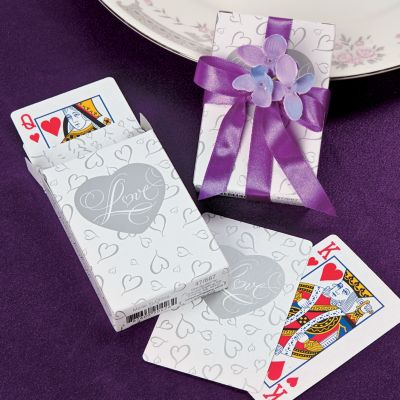 Love Wedding Playing Card favors