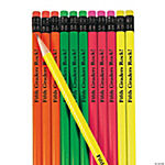 Personalized Neon Pencils