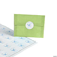 Personalized Spring Wedding Envelope Seals