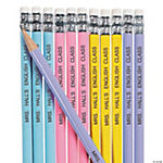 Personalized Pastel Pencils