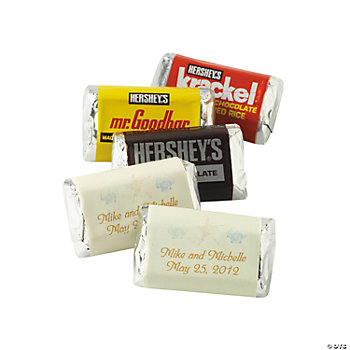 Personalized Summer Wedding Mini Hershey's® Bars