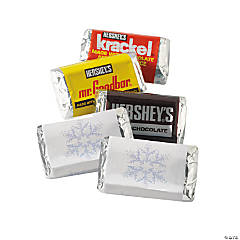 Winter Wedding Mini Hershey's® Bar Labels