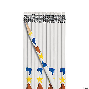 Personalized Western Pencils