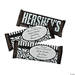 Personalized Black & White Wedding Hershey's® Bars