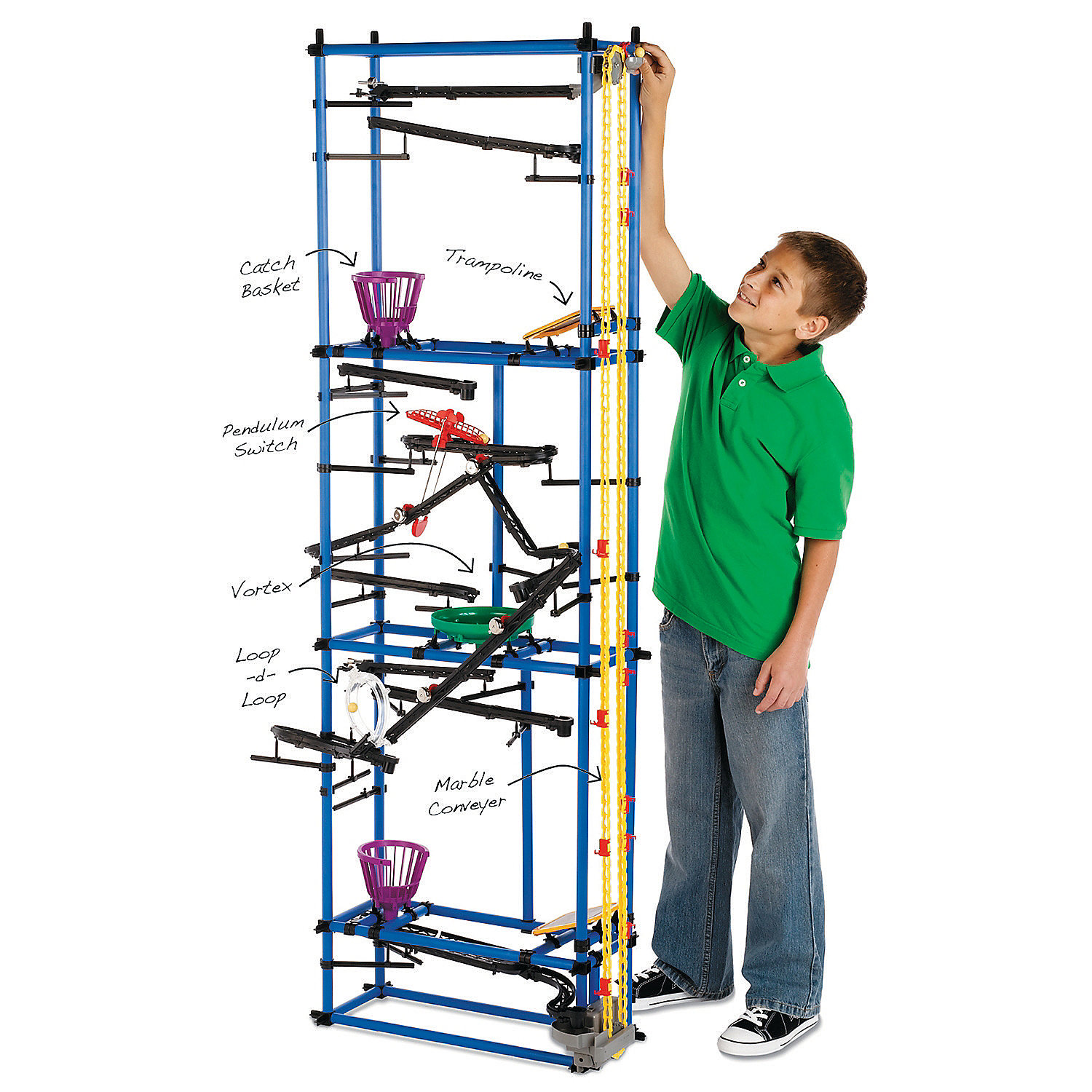 Chaos Tower, Building Sets, Creative Construction - Mindware