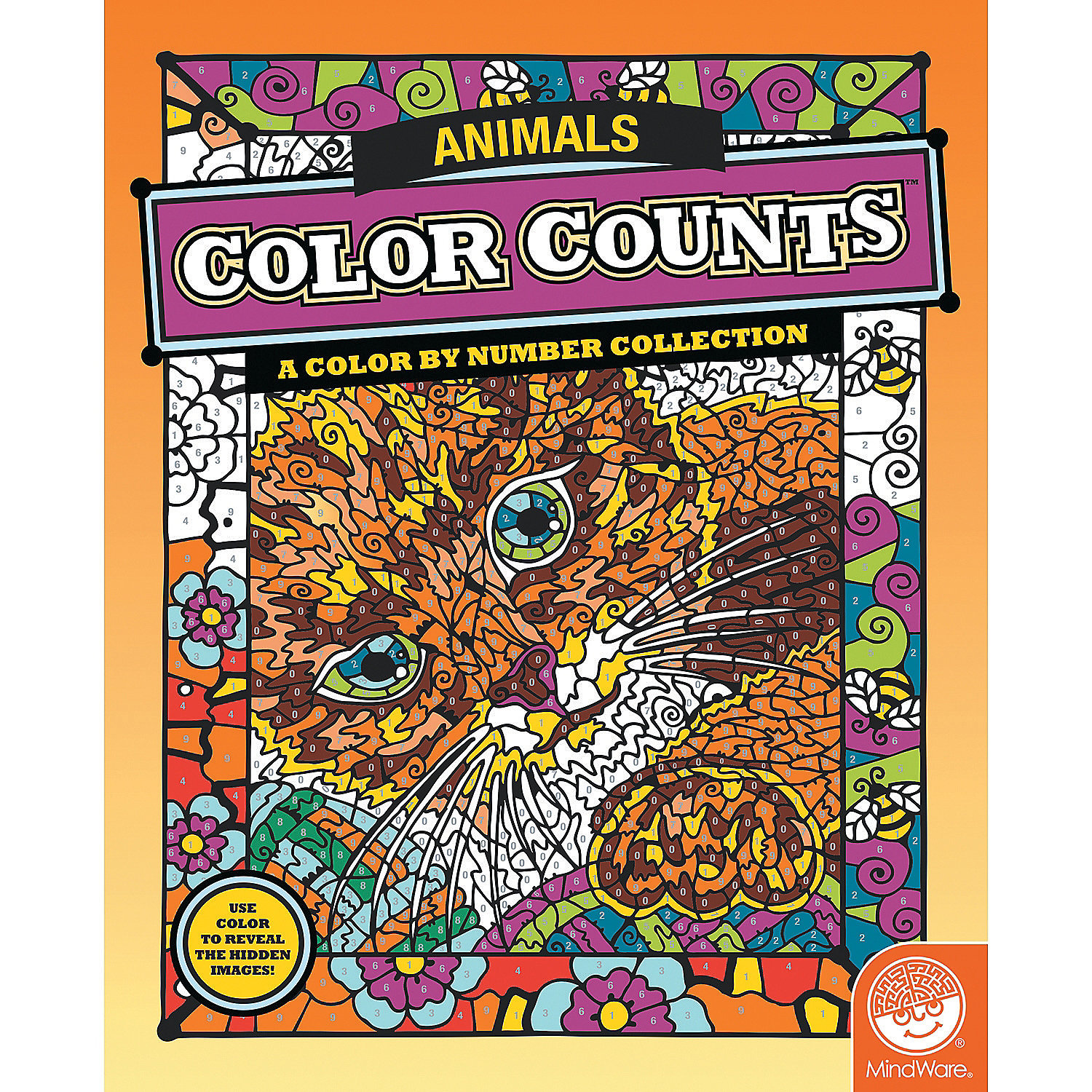 Color counts animals creative activities coloring books for Color counts coloring pages