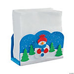 Snowman Napkin Holder Craft Kit