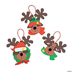 Reindeer Christmas Ornament Craft Kit