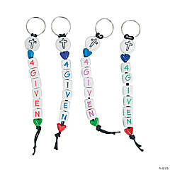 """4Given"" Beaded Key Chain Craft Kit"