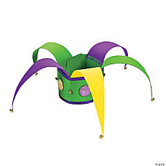 Mardi Gras Jester Hat Craft Kit