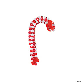 Beaded Candy Cane Ornament Craft Kit