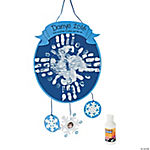 Handprint Snowflake Craft Kit