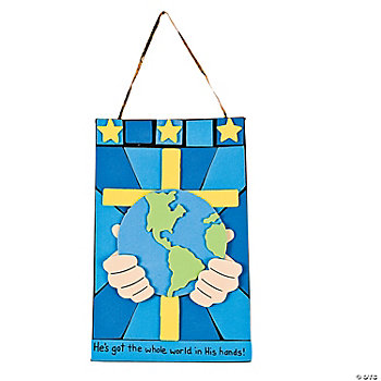 """He's Got The Whole World"" Craft Kit"