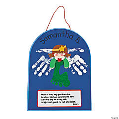 Handprint & Footprint Angel Sign Craft Kit