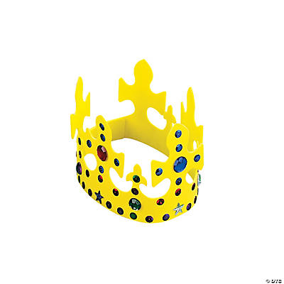 Jeweled Crown Craft Kit