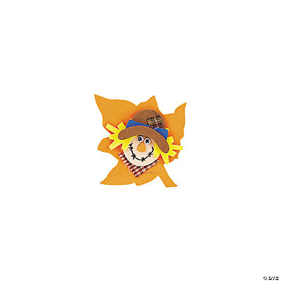 Foam Scarecrow Magnet Craft Kit