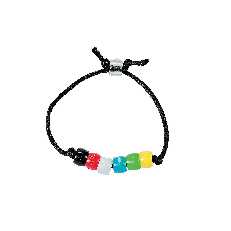 colors of faith bracelet craft kit