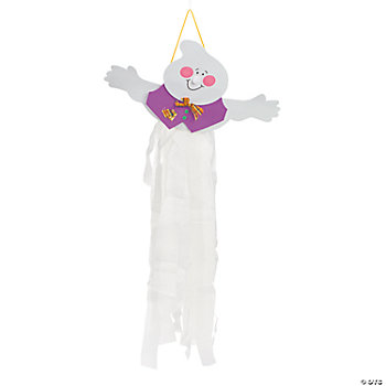 Ghost Windsock Craft Kit