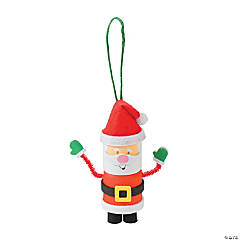 Marshmallow Santa Ornament Christmas Craft Kit