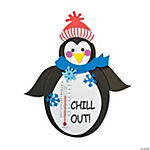 Penguin Thermometer Magnet Craft Kit