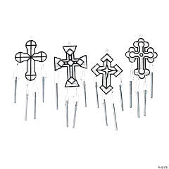 Cross Suncatcher Wind Chimes