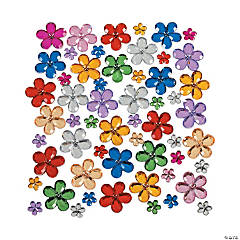 Plastic Flower Jewels