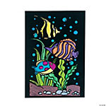 Color Your Own Fish Fuzzy Pictures