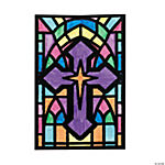 Color Your Own Cross Fuzzy Pictures