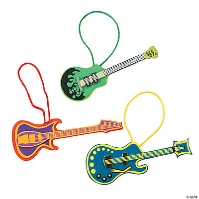 Guitar Ornament Craft Kit