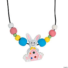 Beaded Easter Necklace Craft Kit