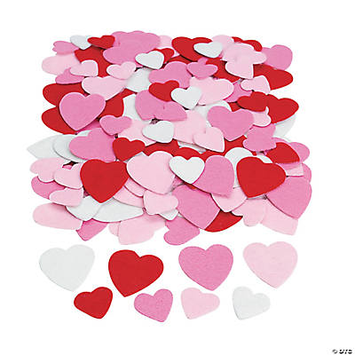 Self-Adhesive Hearts