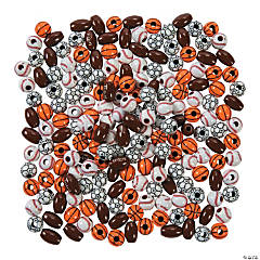 Sport Ball Bead Assortment