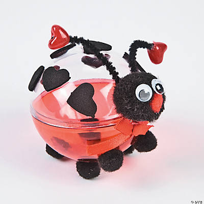 Love Bug Candy Container Craft Kit