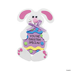 """Eggstra Special!"" Bunny Magnet Craft Kit"