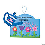 """Everything Grows With Love…"" Sign Craft Kit"