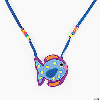Tropical Fish Necklace Craft Kit