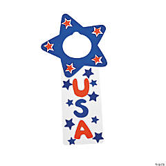 USA Doorknob Hanger Craft Kit