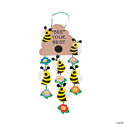 """Bee Your Best"" Mobile Craft Kit"