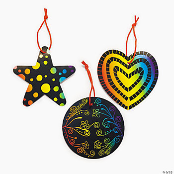 Magic Color Scratch Ornaments