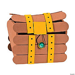 Craft Stick Treasure Chest Craft Kit