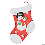 Lacing Holiday Stocking Craft Kit