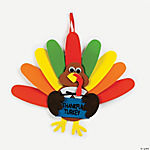 """Thankful Turkey"" Craft Kit"