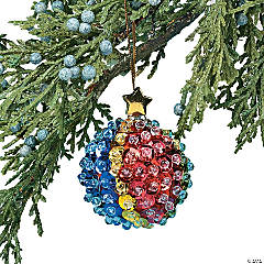 Sequin Ball Christmas Ornament Craft Kit